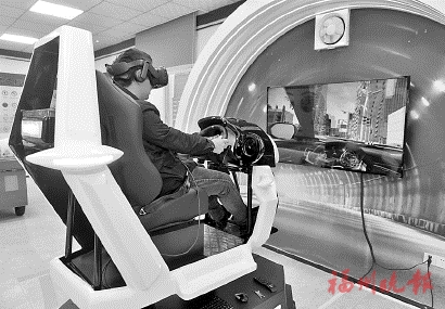 VR模擬系統 讓你感受醉駕危害